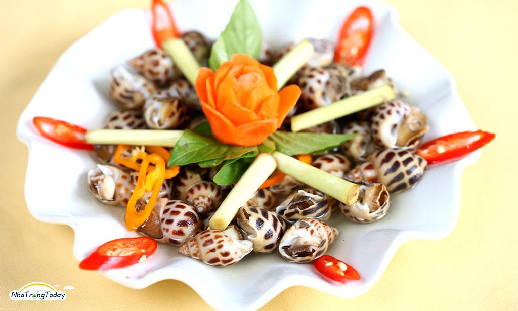 4 món ốc hương thơm ngon