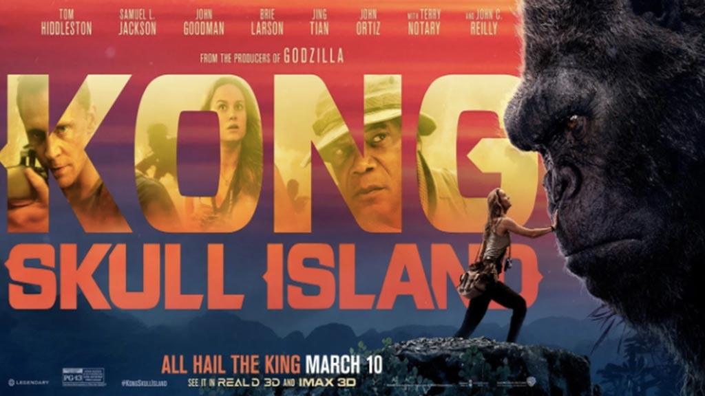 Phim Kong Skull Island - khởi chiếu ngày 10-3-2017