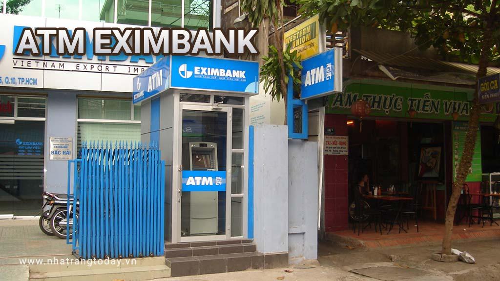 Hệ Thống ATM Ngân Hàng TMCP Xuất Nhập Khẩu Việt Nam Eximbank Nha Trang