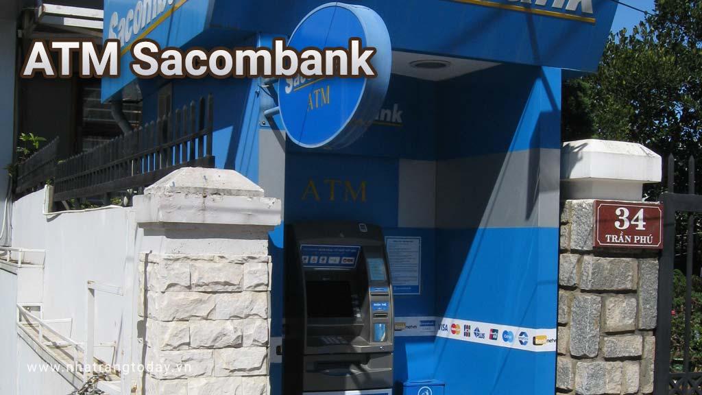 Hệ Thống ATM Ngân Hàng TMCP Sài Gòn Thương Tín Sacombank Nha Trang