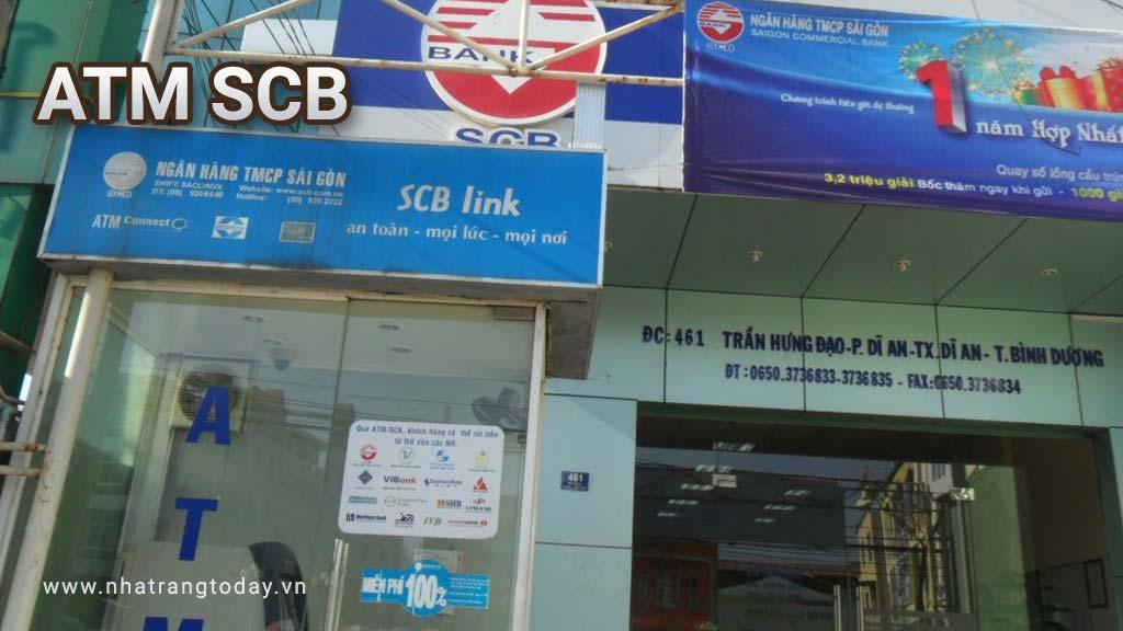 Hệ Thống ATM Ngân Hàng TM - CP Sài Gòn SCB Chi Nhánh Khánh Hoà