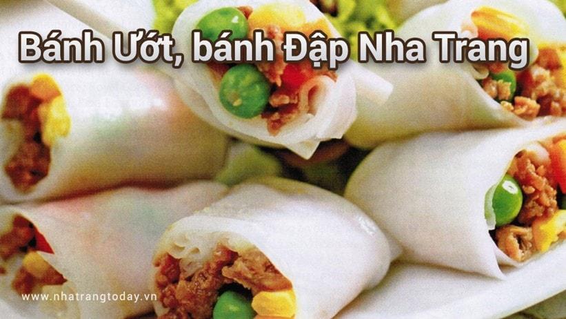 Bánh ướt bánh đập Nha Trang