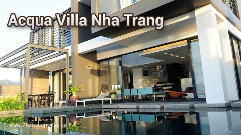 Biệt Thự Acqua Villa Nha Trang