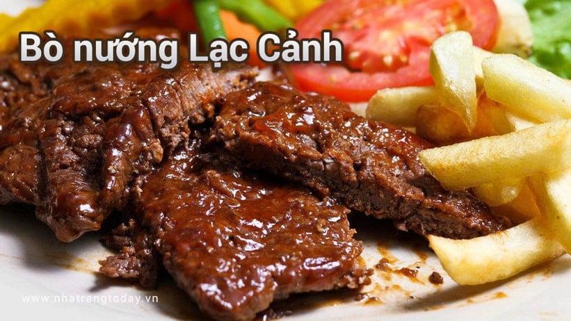Bò nướng Lạc Cảnh Nha Trang
