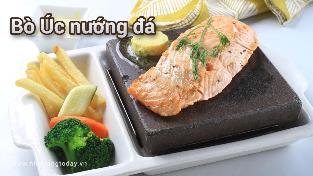 Bò úc nướng đá Nha Trang