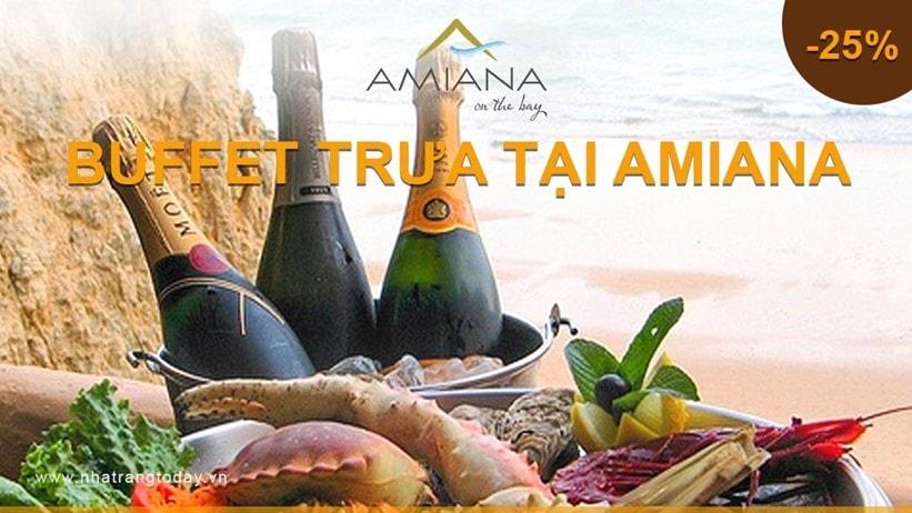 Khuyến Mãi Buffet Trưa Tại Amiana Ngày 26-02-2017
