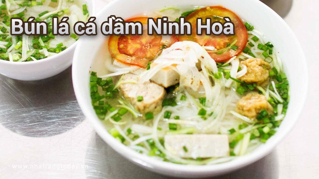 Bún lá cá dầm Ninh Hoà