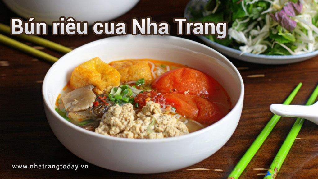 Bún riêu cua Nha Trang