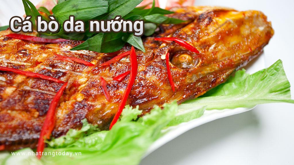 Cá Bò Da Nướng Nha Trang
