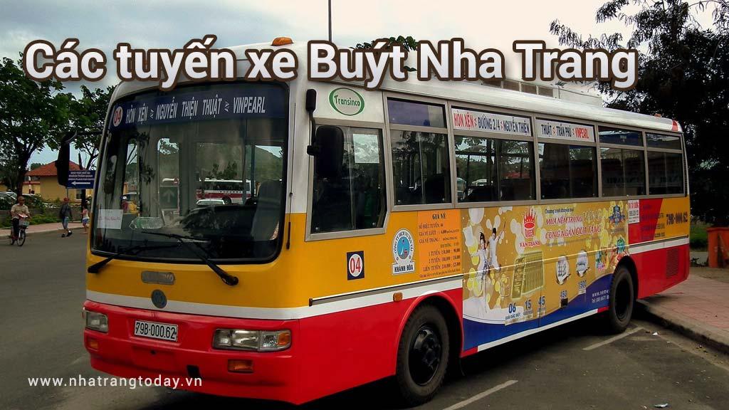 Các tuyến xe bus Nha Trang [Cập nhật 2017]