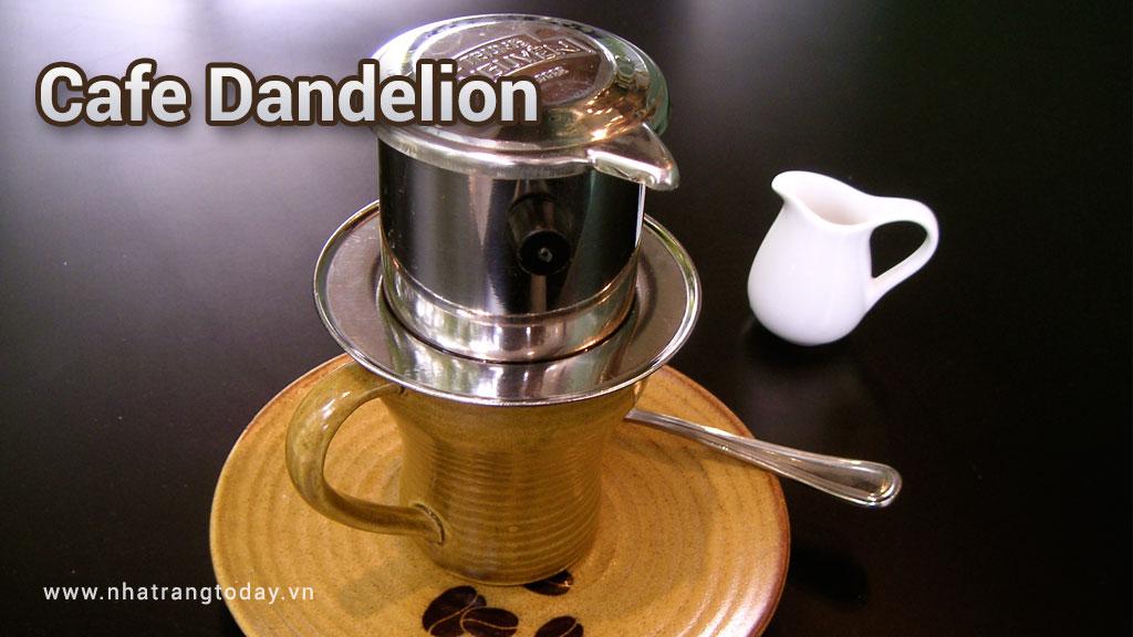 Cafe Dandelion - hoa Bồ Công Anh Nha Trang