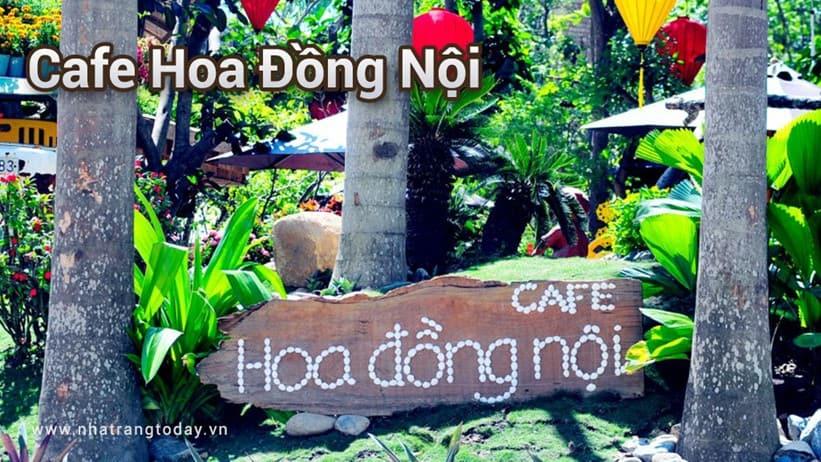Cafe Hoa Đồng Nội Nha Trang- Nơi hương sắc quyện hòa
