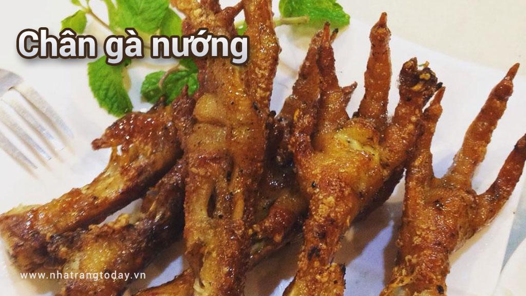 Chân gà nướng Nha Trang