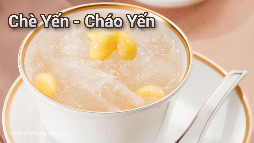 Chè yến - cháo yến Nha Trang