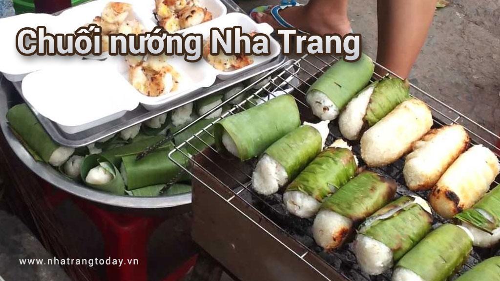 Chuối nướng Nha Trang