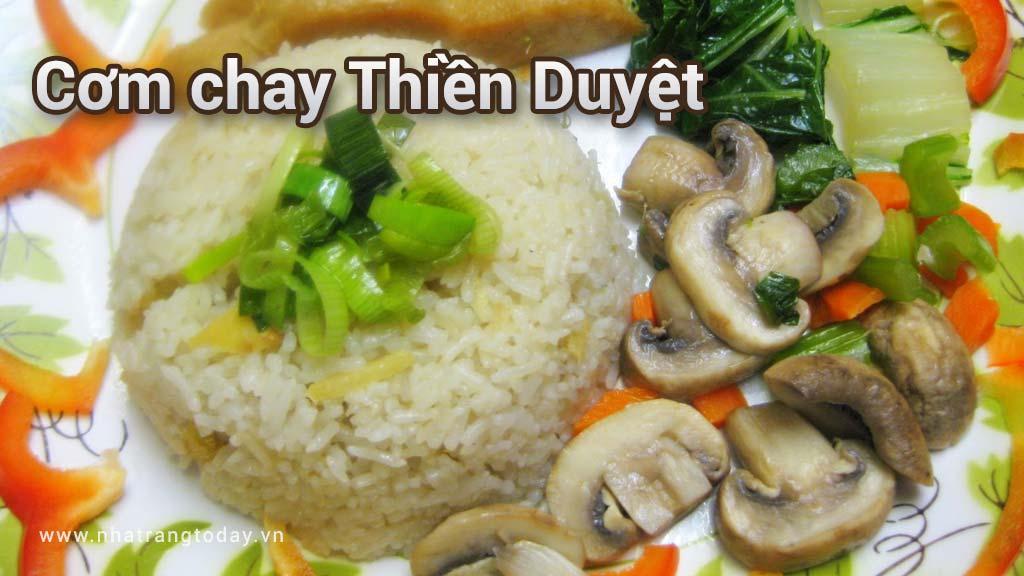 Cơm chay Thiền Duyệt Nha Trang