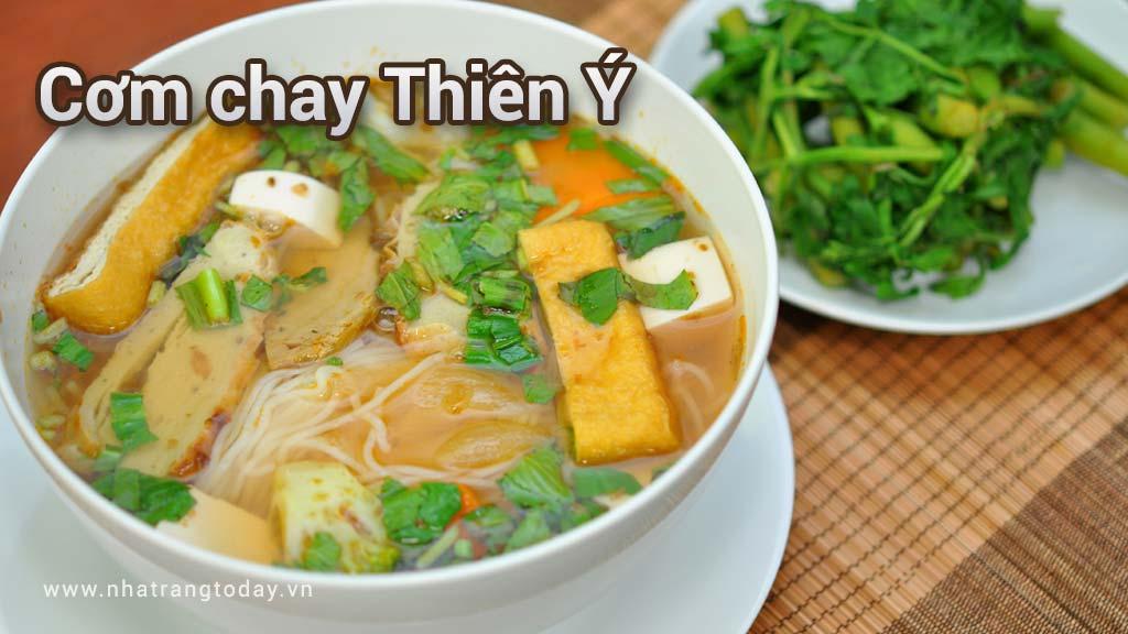 Cơm chay Thiên Ý Nha Trang