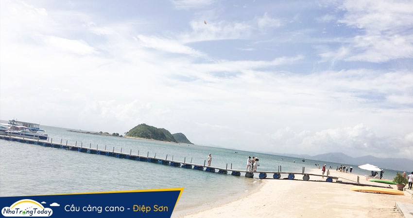 Cầu cảng Cano Đảo Điệp Sơn 2020