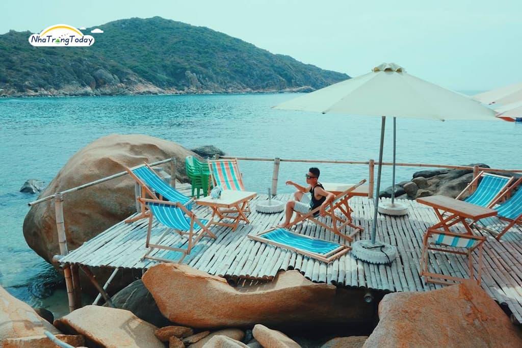 Bãi Nồm - Đảo Bình Ba Nha Trang