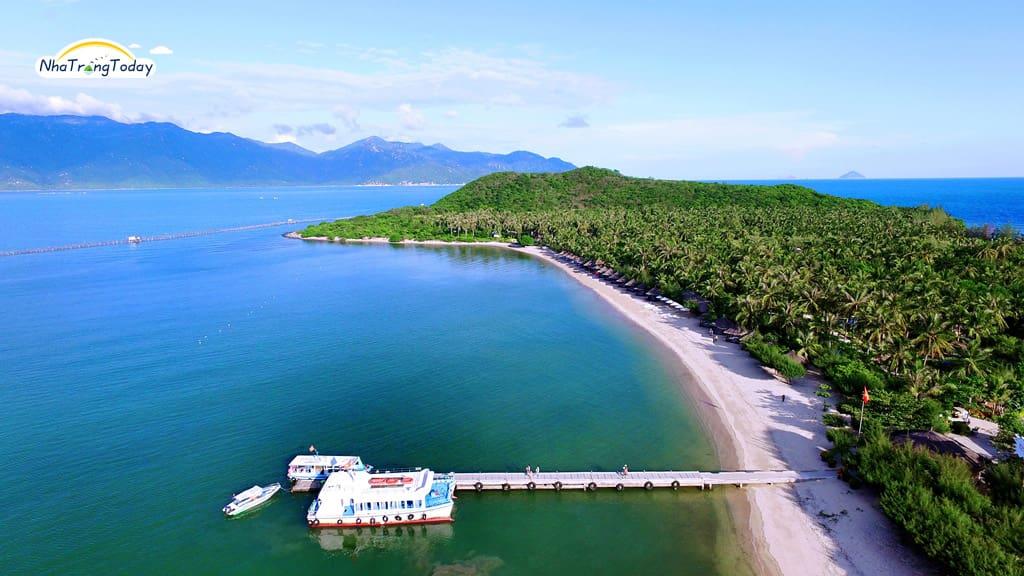 Toàn cảnh đảo khỉ Nha Trang