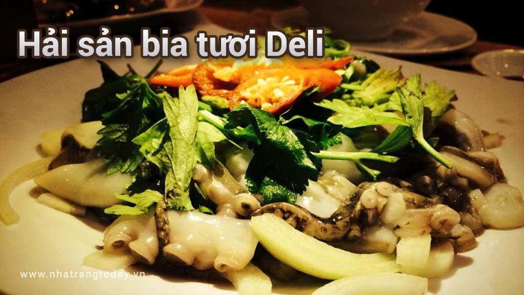 Hải sản bia tươi Deli Nha Trang