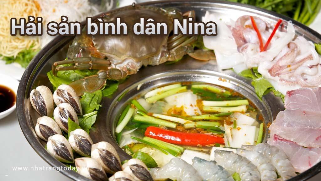 Hải sản bình dân Nina Nha Trang