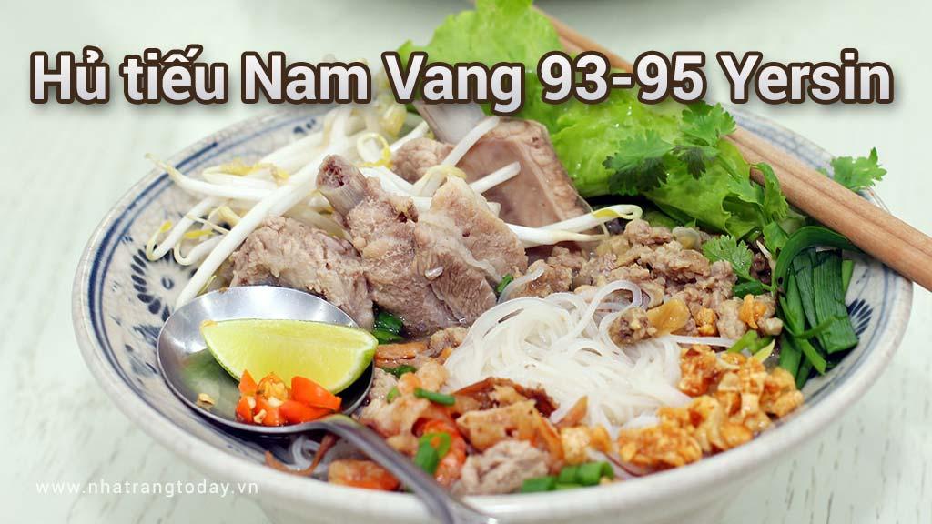 Hủ Tiếu Nam Vang 93-95 Yersin Nha Trang