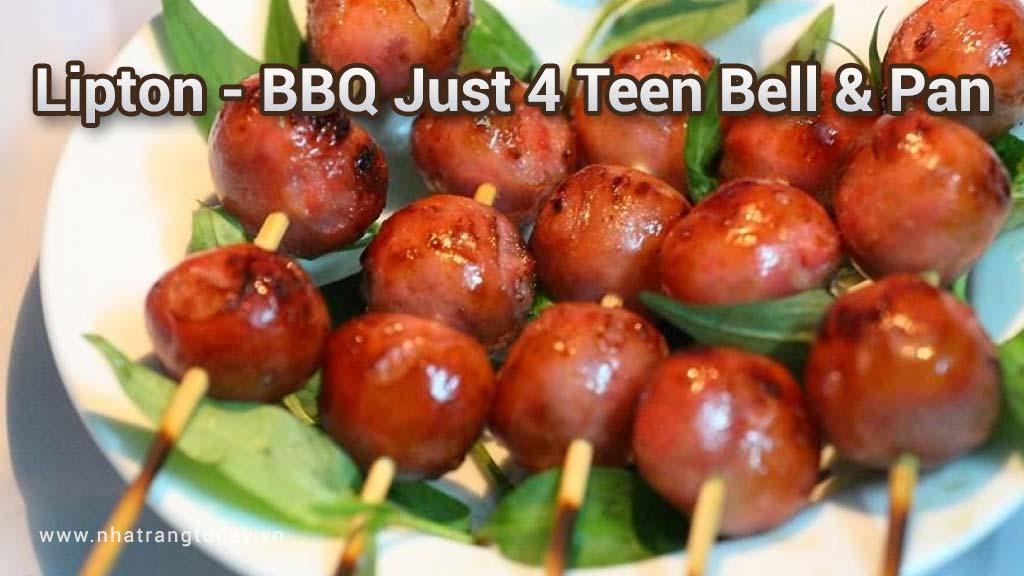 LIPTON - BBQ Just 4 Teen BELL PAN Nha Trang