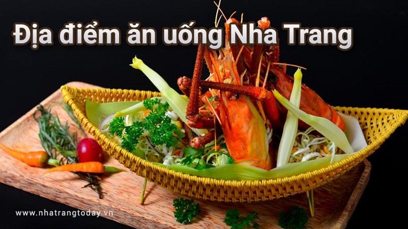 Một số địa điểm ăn uống thú vị ở Nha Trang