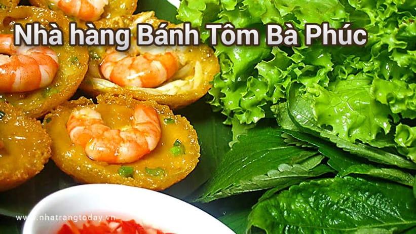 Nhà Hàng Bánh Tôm Bà Phúc Nha Trang