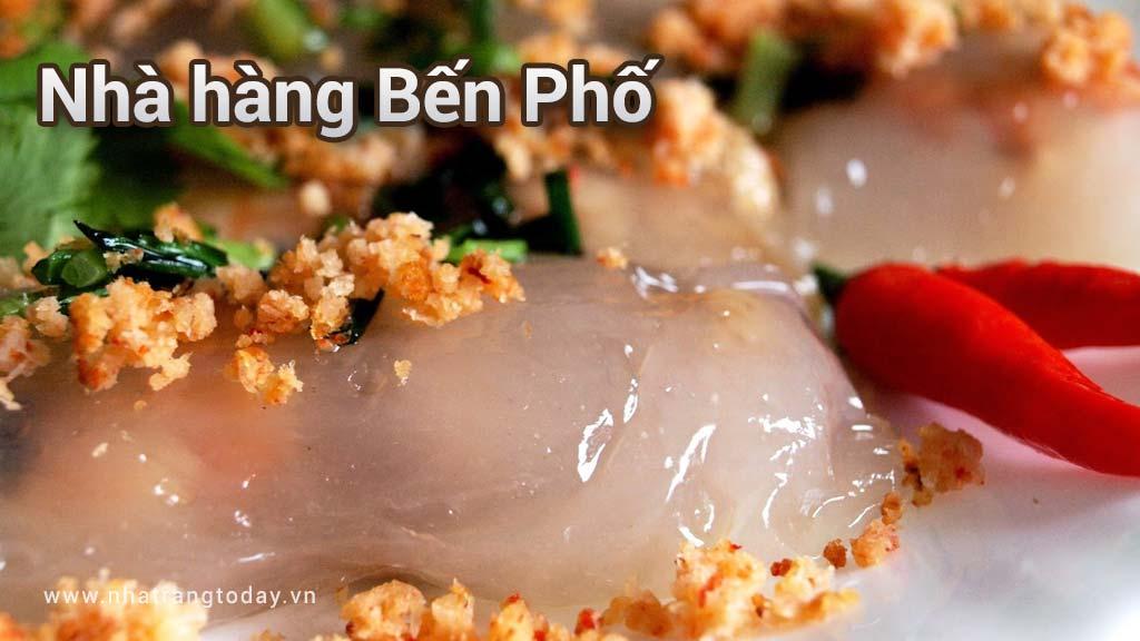Nhà hàng Bến Phố Nha Trang