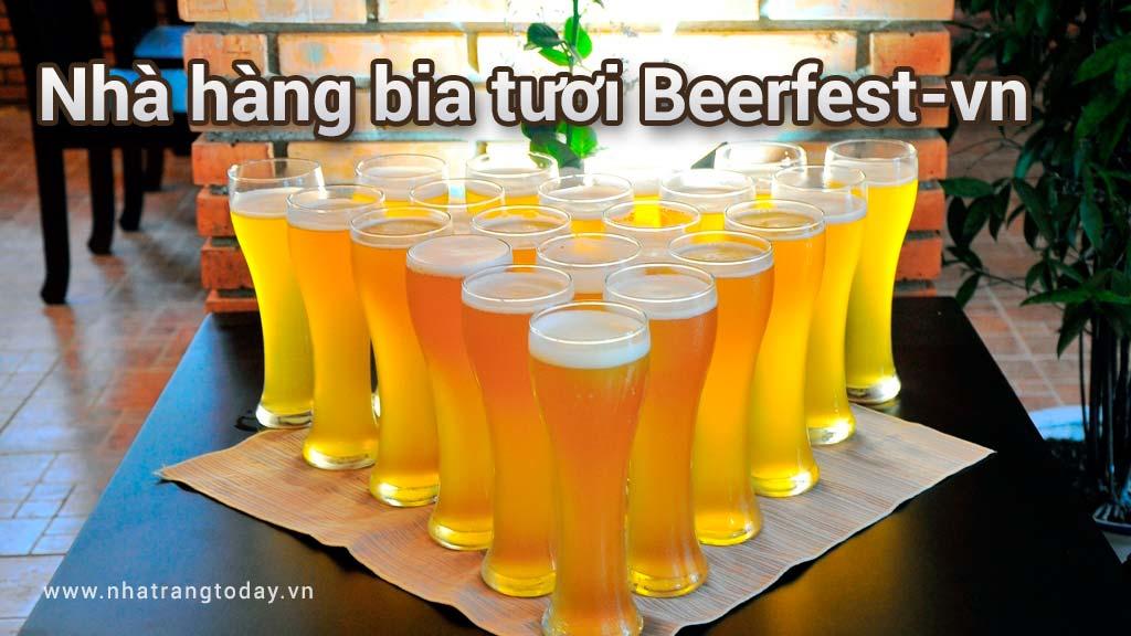 Nhà hàng bia tươi Beerfest-vn Nha Trang