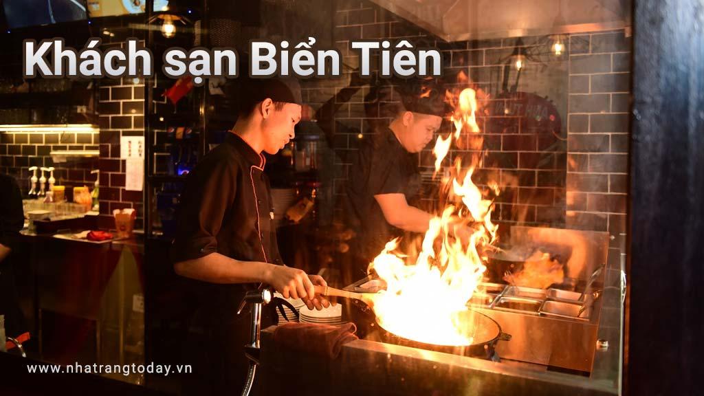 Biển Tiên Restaurant phục vụ các món ăn hải sản cao cấp Nha Trang