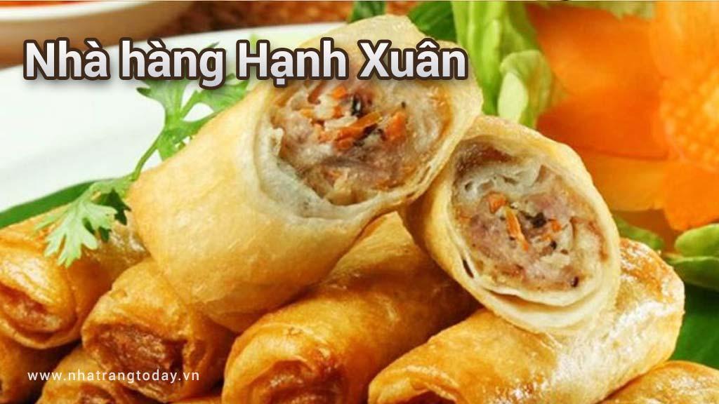 Nhà hàng Hạnh Xuân Nha Trang