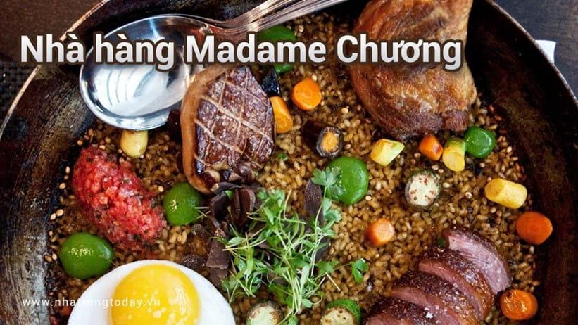 Nhà hàng Madame Chương Nha Trang