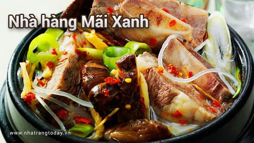 Nhà Hàng Mãi Xanh Nha Trang