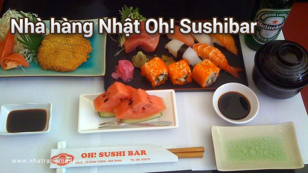 Nhà hàng Nhật Oh Sushibar Nha Trang