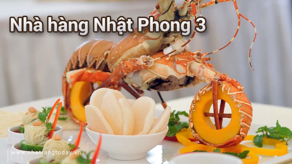 Nhà hàng Nhật Phong 3 Nha Trang