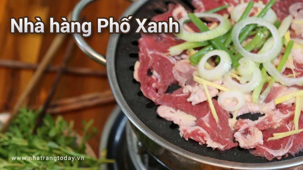 Nhà hàng Phố Xanh Nha Trang