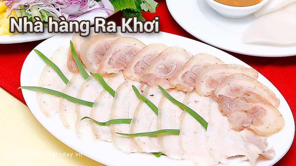 Nhà hàng Ra Khơi Nha Trang