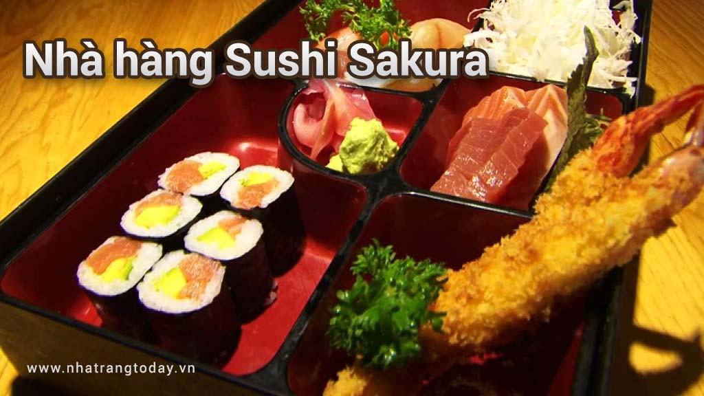 Nhà hàng Sushi Sakura Nha Trang