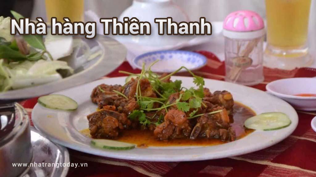 Nhà hàng Thiên Thanh Nha Trang