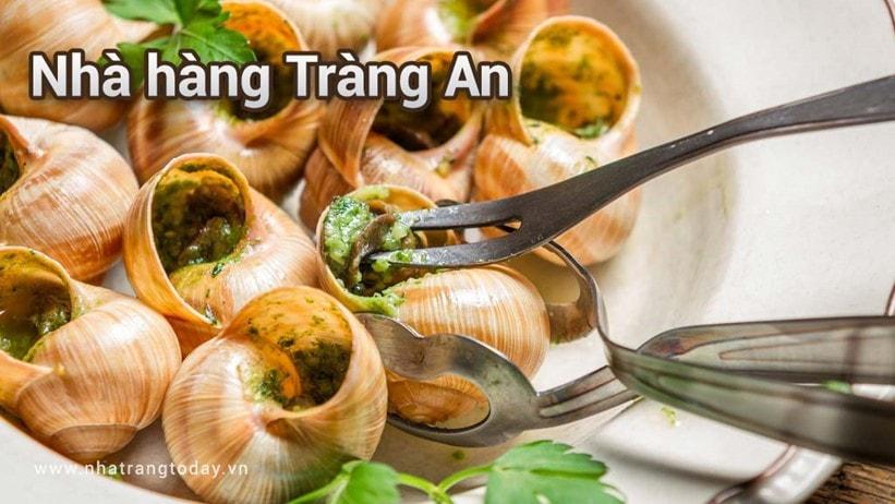 Nhà hàng Tràng An Nha Trang