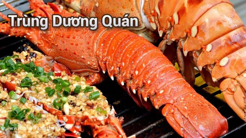 Nhà hàng Trùng Dương Quán Nha Trang