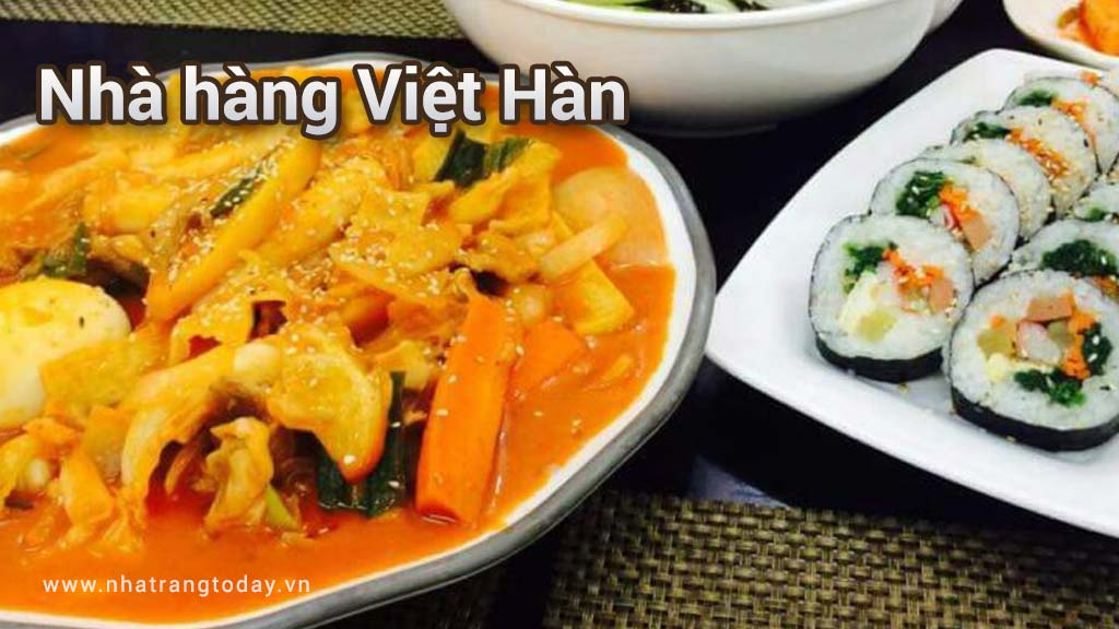 Nhà hàng Việt Hàn Nha Trang