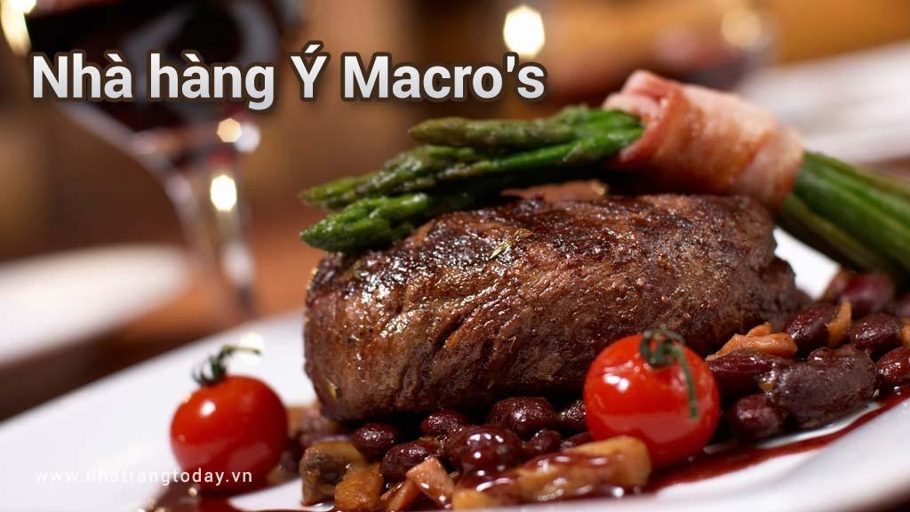 Nhà hàng Ý Marco Nha Trang