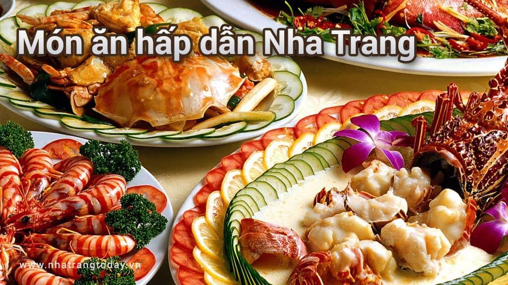 Những món ăn hấp dẫn ở Nha Trang