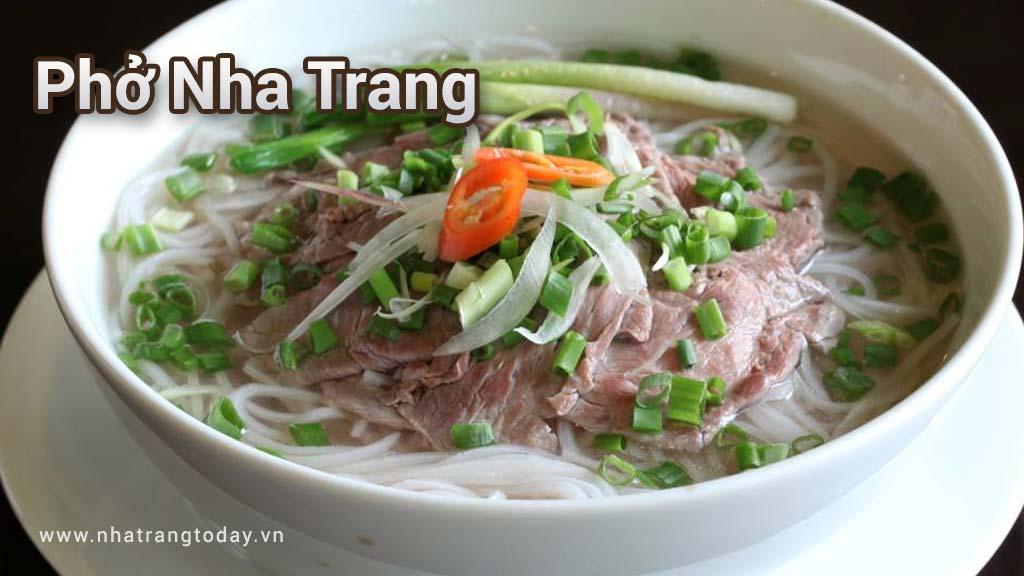 Các quán Phở ở Nha Trang