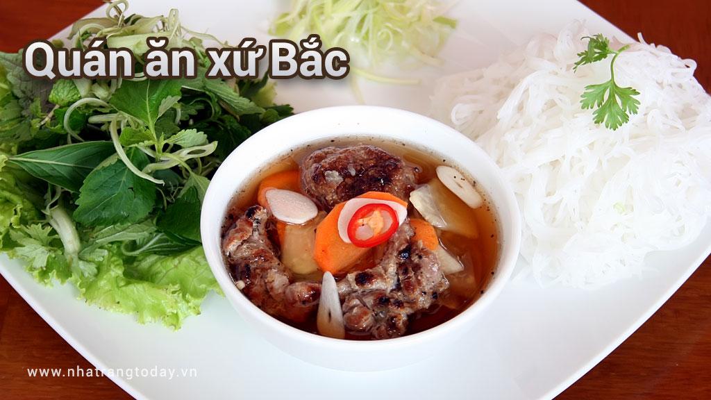 Quán ăn xứ Bắc ở thành phố biển Nha Trang