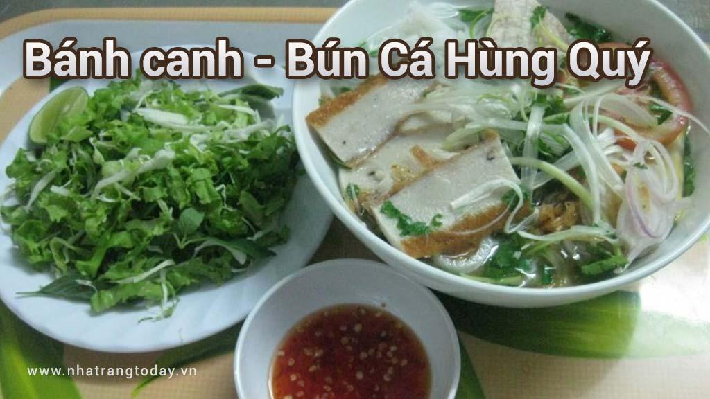 Quán bánh canh bún cá Hùng Quý Nha Trang